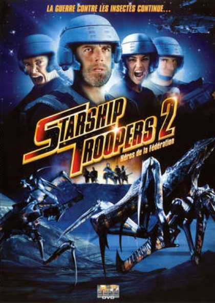 French DVDs - Starship Troopers 2