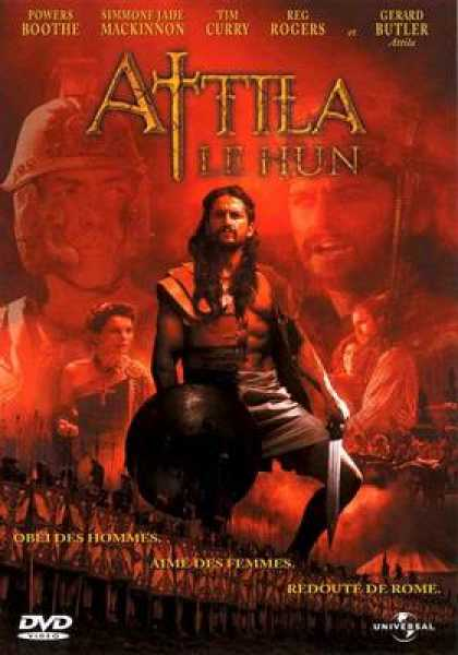 French DVDs - Attila The Hun