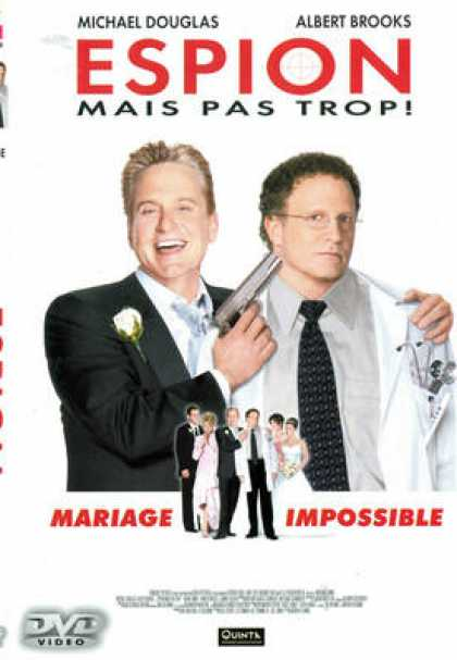 French DVDs - Espion Mais Pas Trop