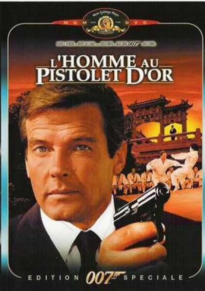 French DVDs - The Man With The Golden Gun