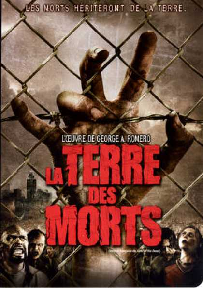 French DVDs - Land Of The Dead