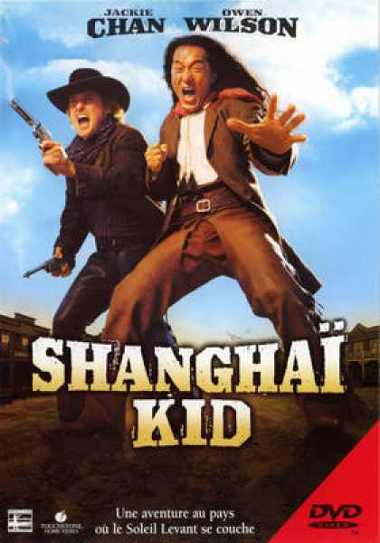 French DVDs - Shanghai Noon