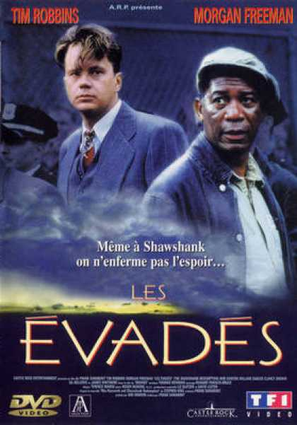 French DVDs - Les Evades
