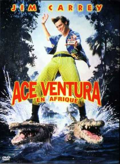 French DVDs - Ace Ventura - Operacion Africa