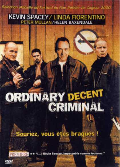 French DVDs - Ordinary Decent Criminal