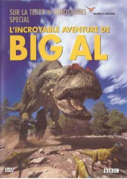 French DVDs - The Incredible Adventures Of Big Al