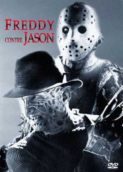 French DVDs - Freddy Vs Jason