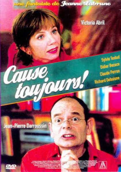 French DVDs - Cause Toujours