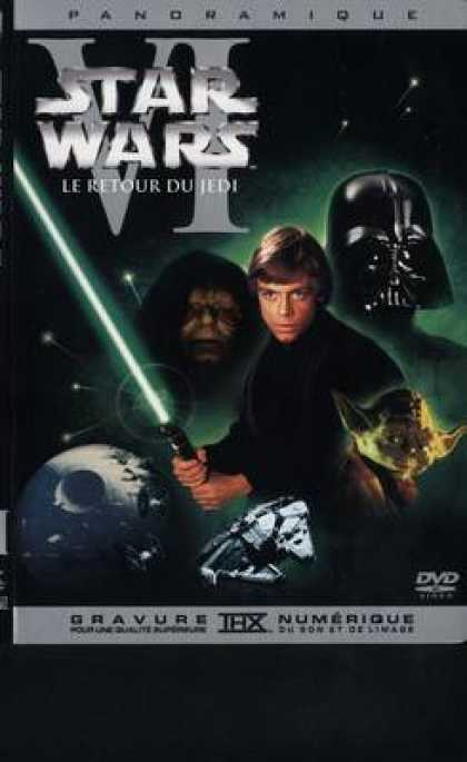 French DVDs - Star Wars 6 Return Of The Jedi French Canadian