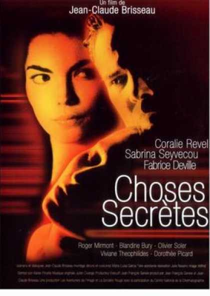 French DVDs - Secret Things