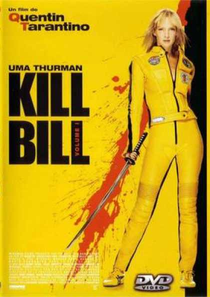 French DVDs - Kill Bill 1