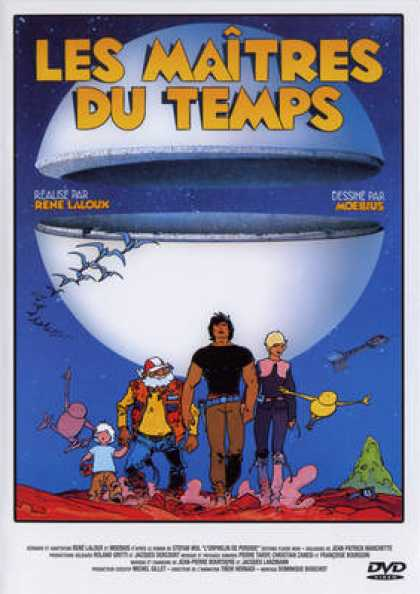 French DVDs - Les Maitres Du Temps