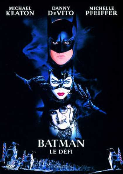 French DVDs - Batman Le Defi