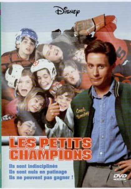 French DVDs - Disney The Mighty Ducks