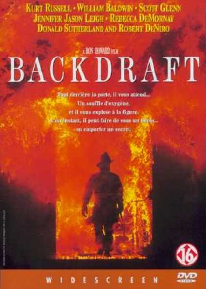 French DVDs - Backdraft