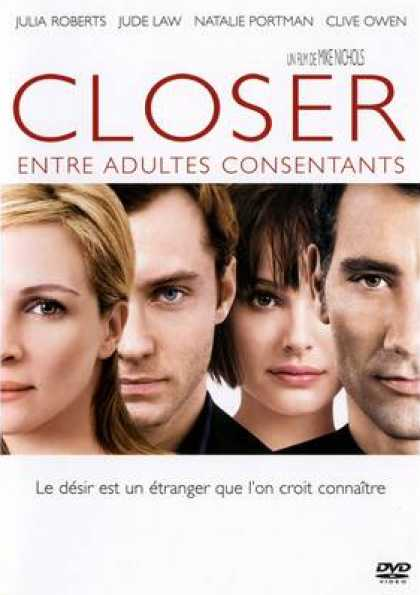 French DVDs - Closer