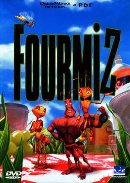French DVDs - Antz