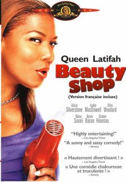 French DVDs - Beauty Shop