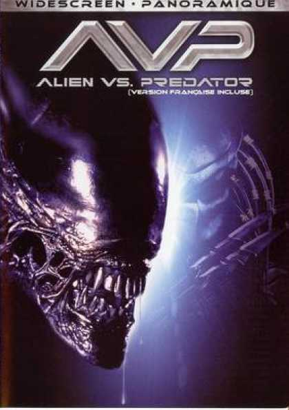 French DVDs - Alien Vs Predator French Canadian