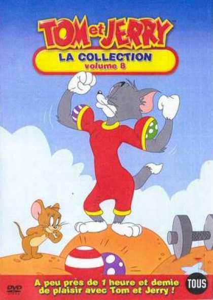 French DVDs - Tom And Jerry The Collection Vol 8