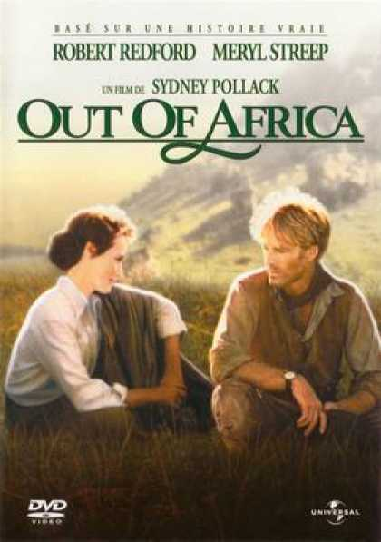 French DVDs - Out Of Africa