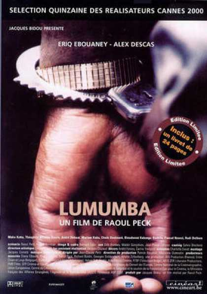 French DVDs - Lumumba