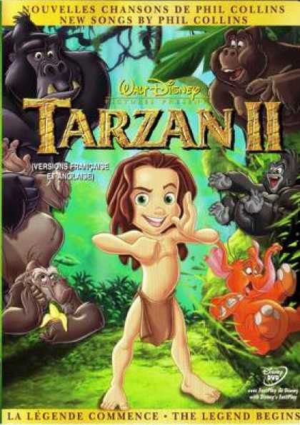 French DVDs - Tarzan 2 French Canadian