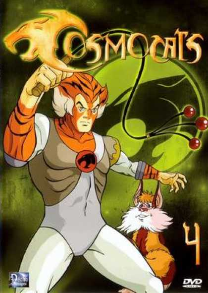 French DVDs - Thundercats Volume 4