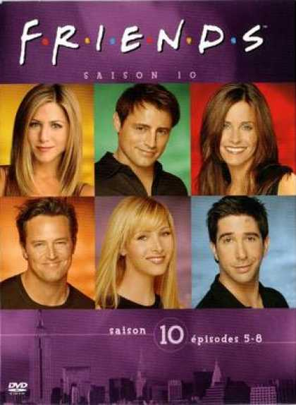 French DVDs - Friends Series 10 Episodes 5 - 8