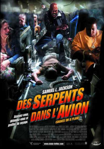 French DVDs - Snakes On A Plane