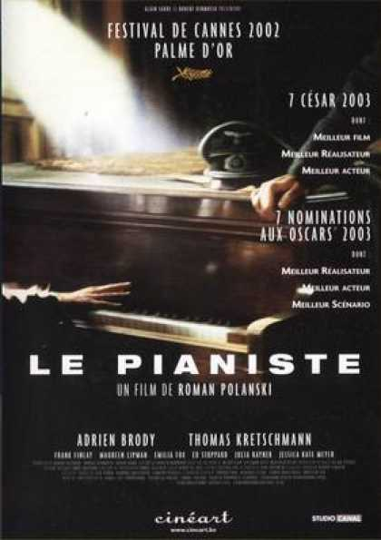 French DVDs - The Pianist