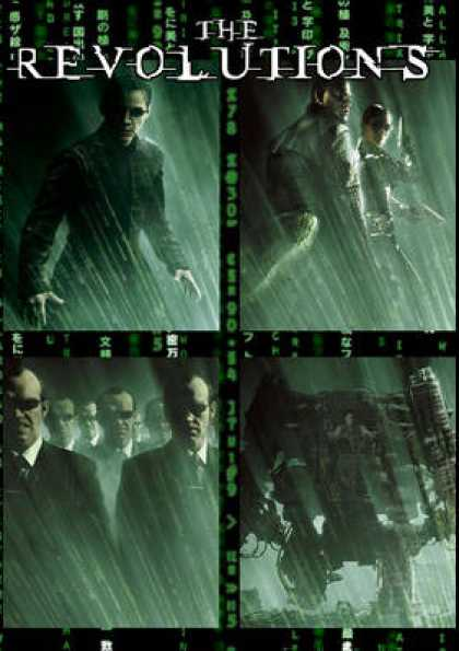 French DVDs - The Matrix Collection 1 - 4