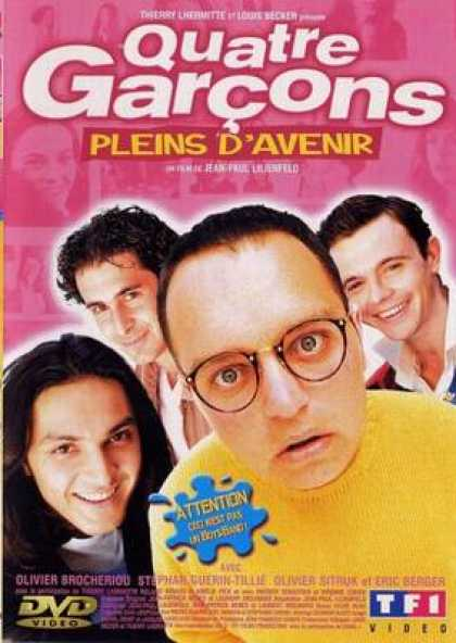 French DVDs - 4 Men On The Street