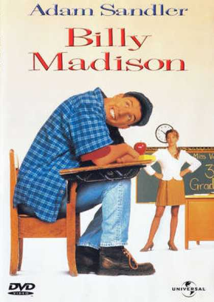 French DVDs - Billy Madison