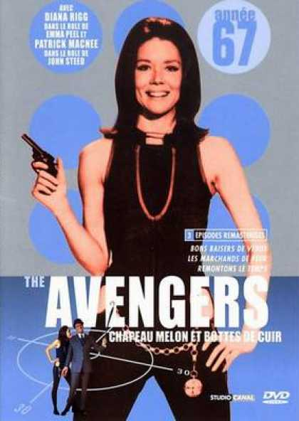 French DVDs - The Avengers 1967 Vol 1