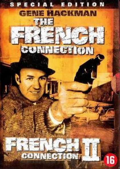 French DVDs - The French Connection 1 And 2