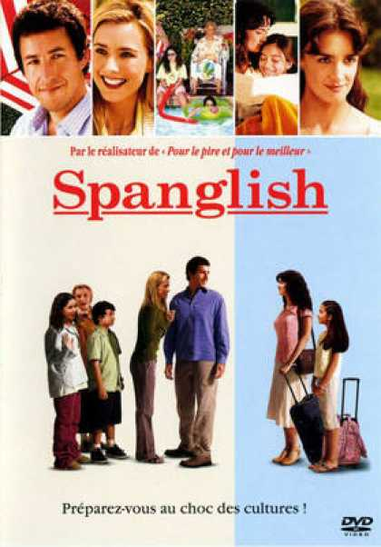 French DVDs - Spanglish