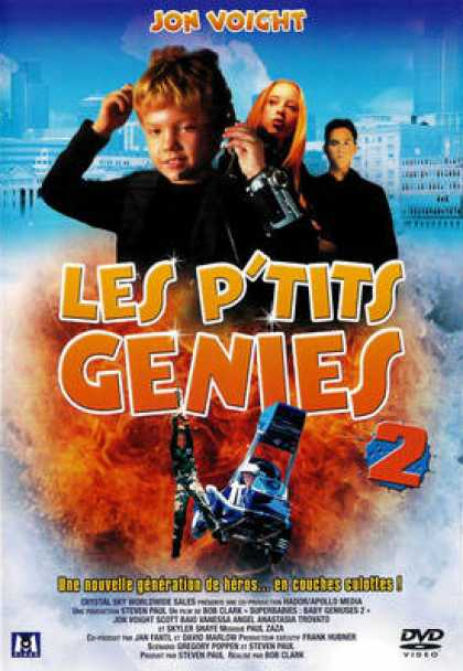 French DVDs - Les P Tits Genies 2