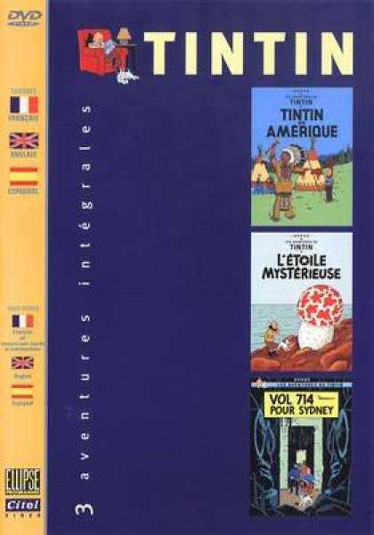 French DVDs - The Adventures Of Tintin 2