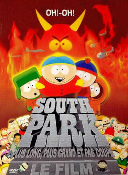 French DVDs - South Park - The Film