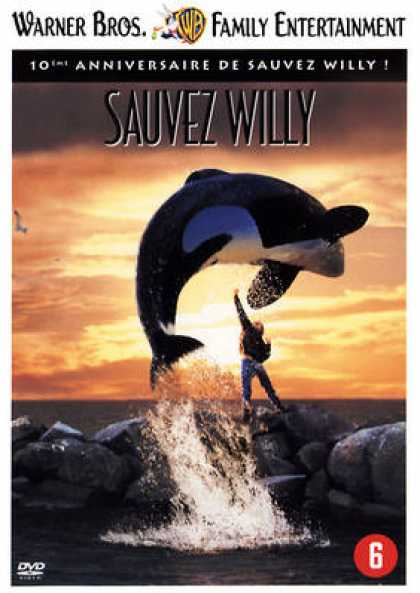 French DVDs - Free Willy