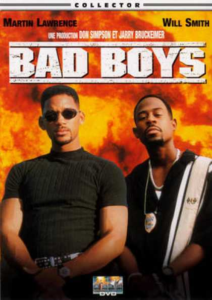 French DVDs - Bad Boys 1 CE