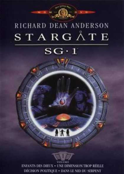 French DVDs - Stargate Sg 1 Vol 1