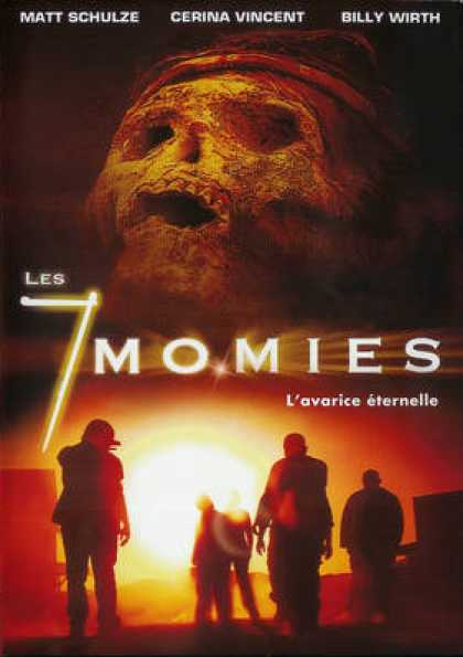 French DVDs - Les 7 Momies