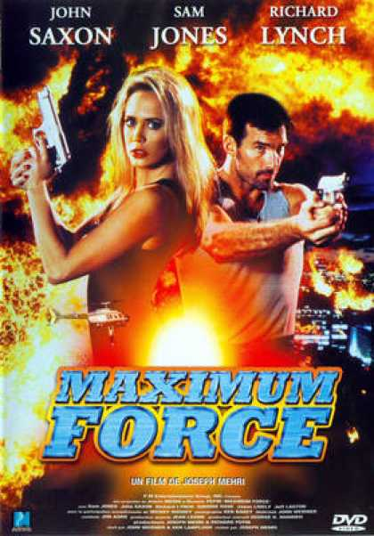 French DVDs - Maximum Force