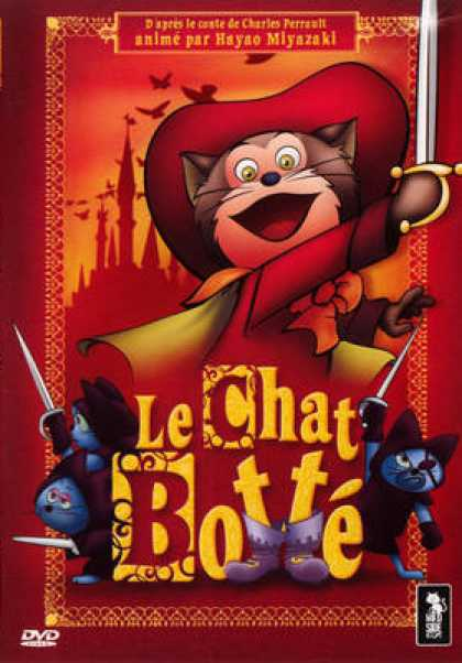French DVDs - Le Chat Botte
