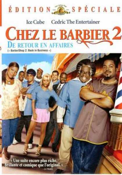 French DVDs - Barbershop 2 Back In Business
