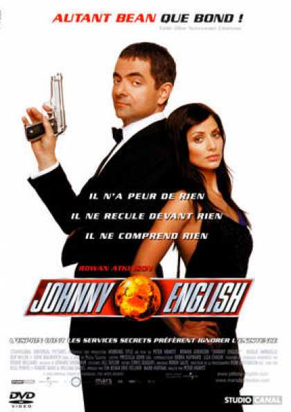 French DVDs - Johnny English