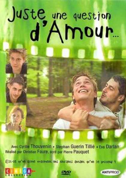 French DVDs - Just A Question Of Love