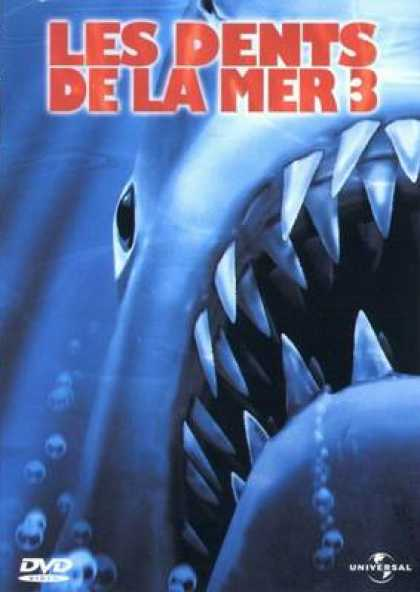 French DVDs - Jaws 3